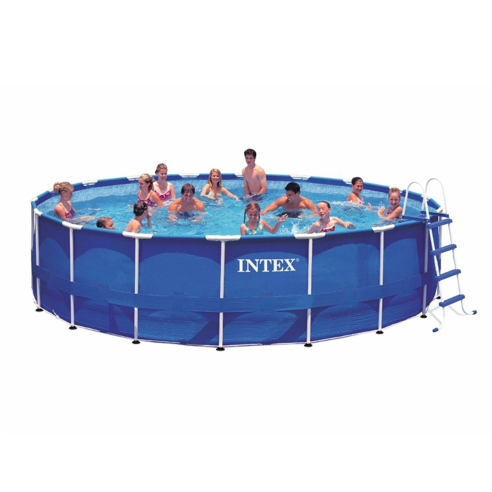 Intex metal frame above ground pool reviews