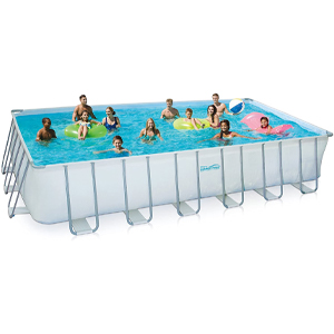 Summer Waves Elite Metal Frame Swimming Pool